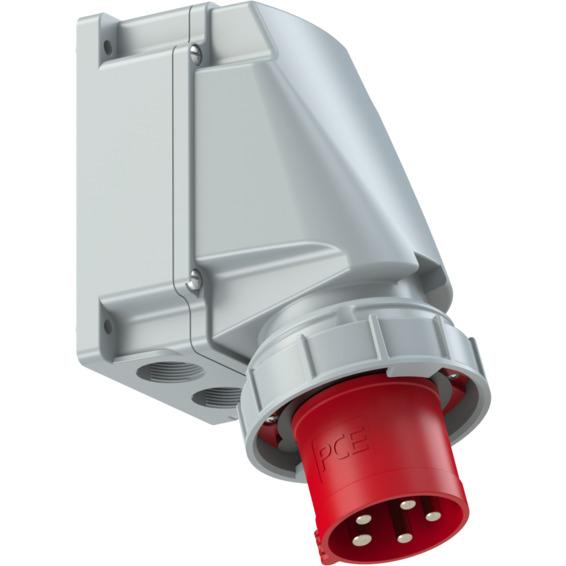 Apparatinntak IP67 63A 3P+N+J 400V6H
