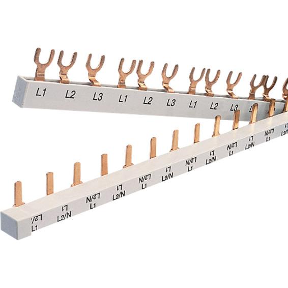 SAMLESKINNE 3P Gaffel JFA 3 moduls 2P 16mm² 1 meter Pollmann