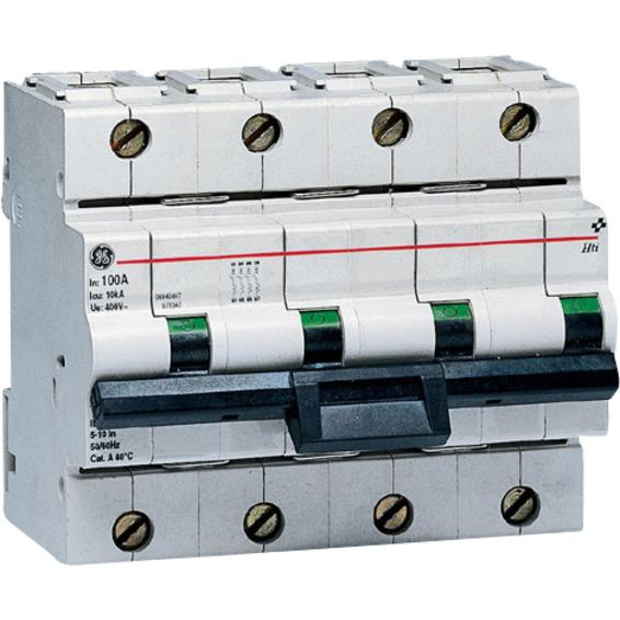 Effektbryter HTI 104 C 100A 4-Pol Modulær 10kA
