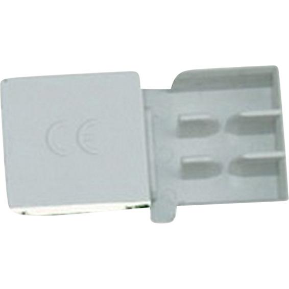Endekappe EK 2 for 2Pol 10mm² Samleskinne EFA