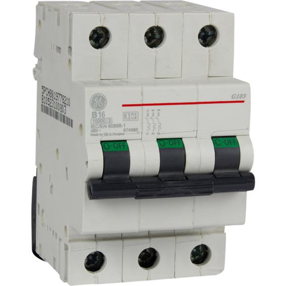 Automatsikring G103 B 16  16A EFA