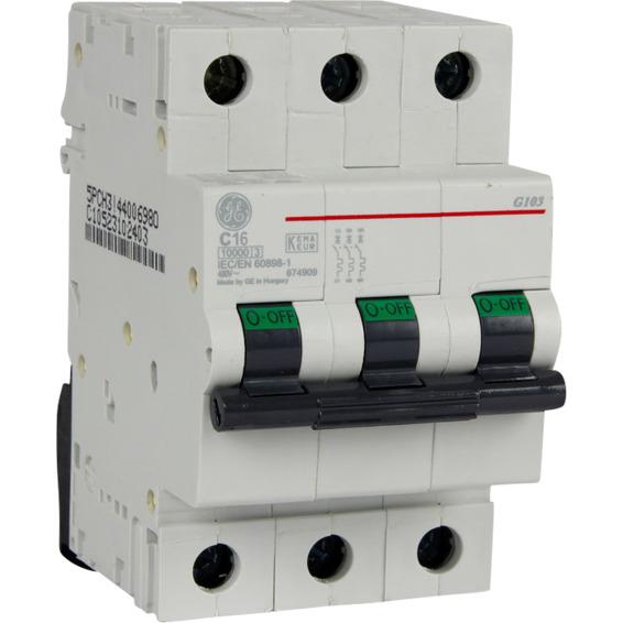 EFA Automatsikring G103 C 16  16A EFA 1644689 Automatsikring 3-Pol