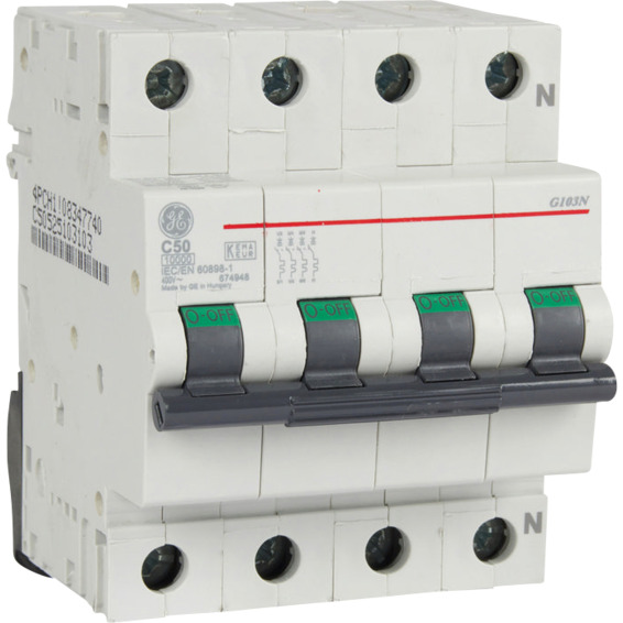 Automatsikring G103N C 50  50A EFA