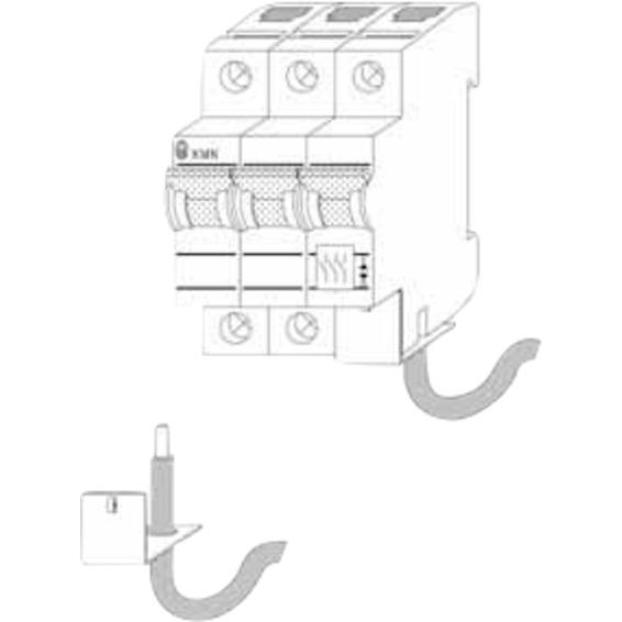 Eaton KLEMMEAVDEKNING FOR PLSM-L7 1657107 Sikringsmateriell Tilbehør
