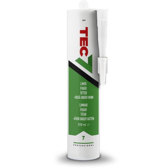 Tec7 Hvit 310 ml Novatech