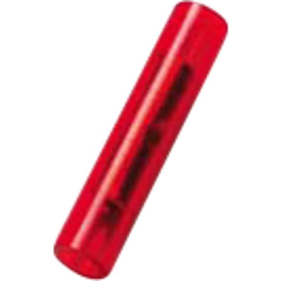 Isolert skjøtehylse  A1525SK Rød  0,5-1,5mm²