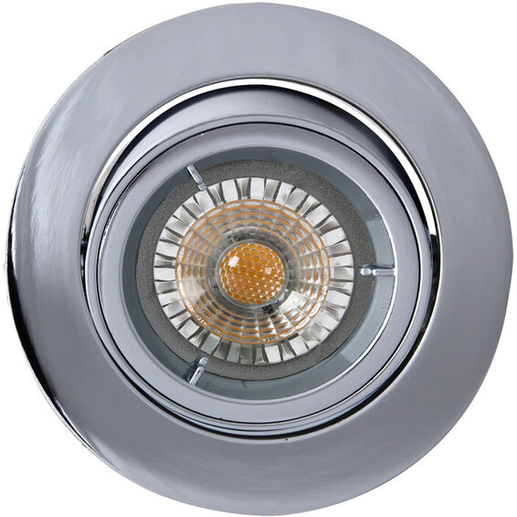 Juno LED Downlight U/pære GU10 Krom