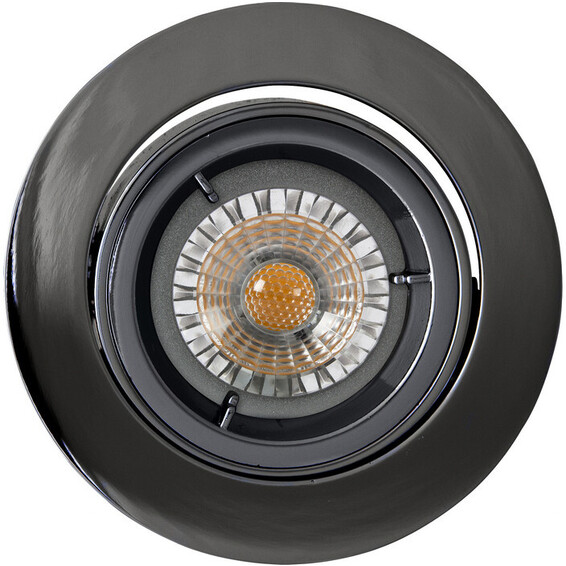 Juno LED Downlight U/pære GU10 Sort Krom