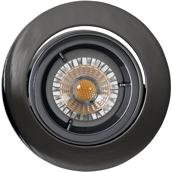 Juno LED Downlight U/pære GU10 Sort Krom