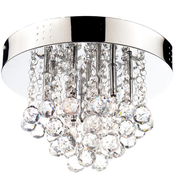 Straale Dina Moderne taklampe stål/krystall 3007055 Taklampe / Vegglampe