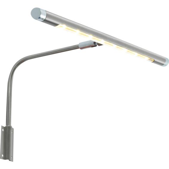 Franz Maleribelysning 8x1W LED Krom