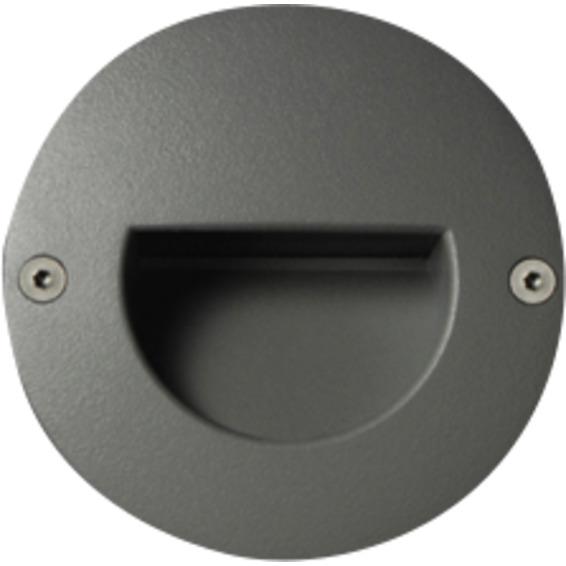 Unilamp Dot LED Round Ramp 6052 1,4w 3000K 350mA DC Hvit
