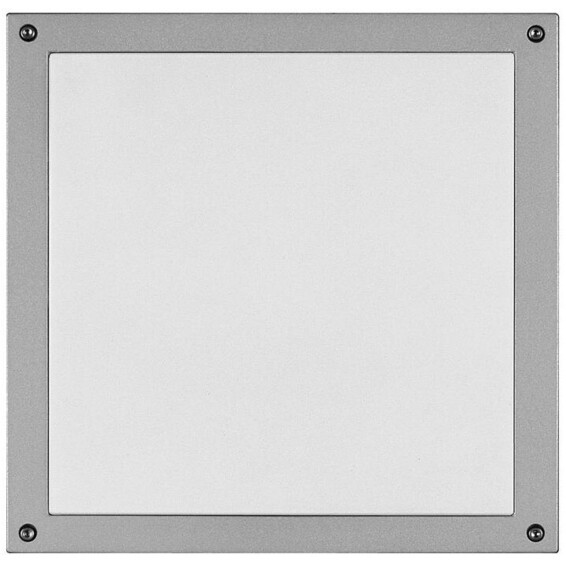 Unilamp Drift Flat 7024 18W G24d-2 IP65 Sølv