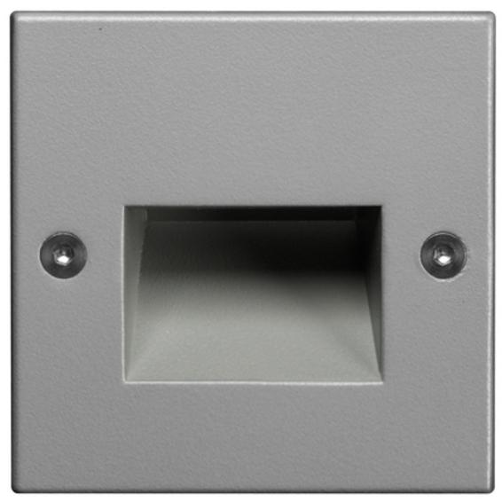 Unilamp Dot LED Square Ramp 6051 1,4w 3000K 350mA DC Sølv