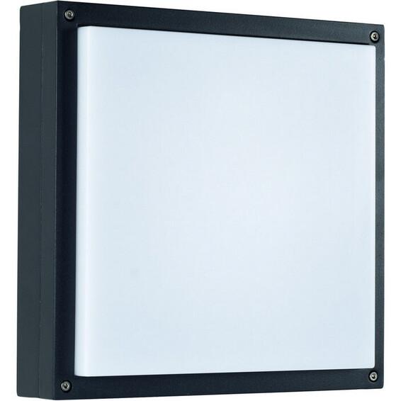 Unilamp Drift Flat 7024 18W G24d-2 IP65 Grafitt