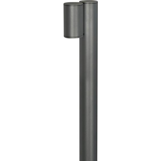 Unilamp Tube 7144 Pullert GU10 50W IP65 Grafitt