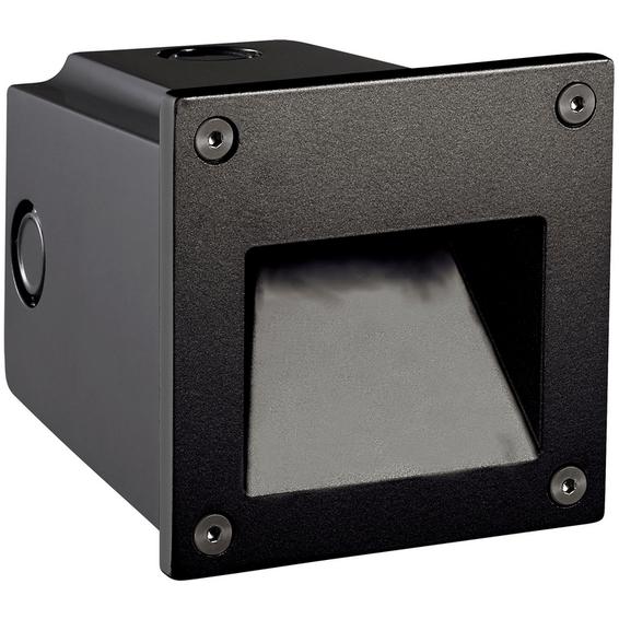 Gaia LED 3W Varmhvit 700mA m/driver Sort IP 65
