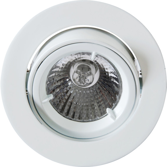 Namron Artos Outdoor 240V/50W GU10 Matt Hvit IP23 3109366 Downlight utendørs