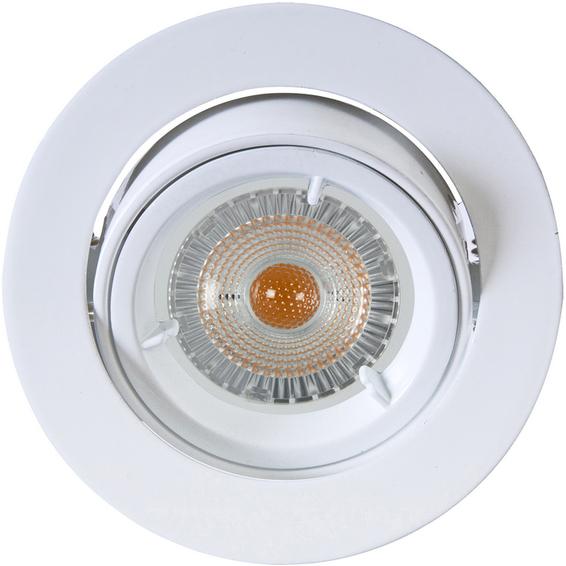 Artos LED Outdoor Downlight 240V 6,5W GU10 Matt Hvit IP23