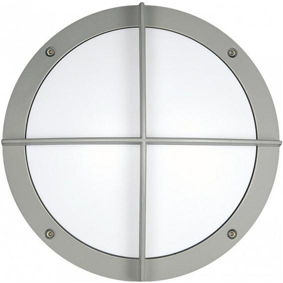 Retina 7037 Cross LED 12W IP65 Sølv