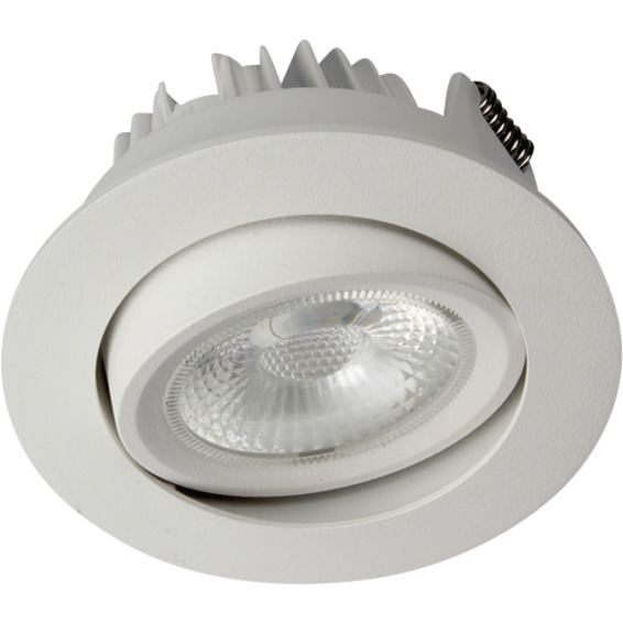 Unilamp Juno Cob+ Outdoor LED 10W Matt Hvit 3109550 Downlight utendørs