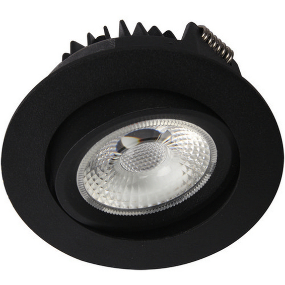 Unilamp Juno Cob+ Outdoor LED 10W Matt Sort 3109551 Downlight utendørs