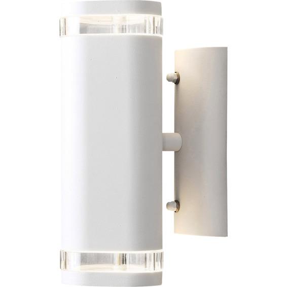 Vegglampe Modena Ute/inne Up/Down GU10 Hvit