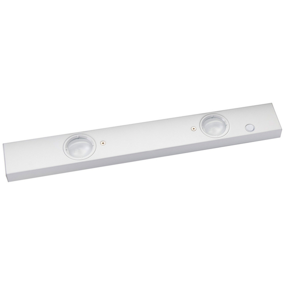 Benk LED Chef pluss 2x2,4W hvit