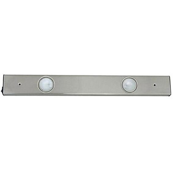 Benkarmatur Cabinet 2X20W St�l Halogen 12V G4