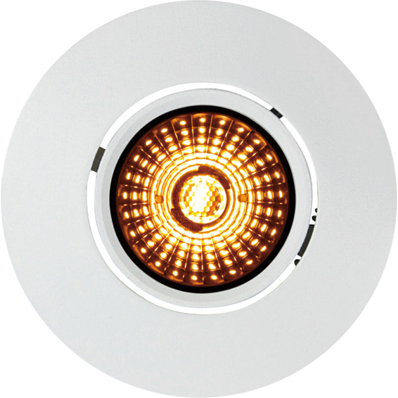 Altea Tilt Warmdim Downlight 8W Matt Hvit