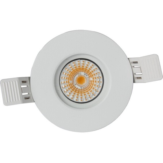 Namron Altea Fast Warmdim Downlight 8W Matt Hvit IP65 3202112 Downlight innendørs