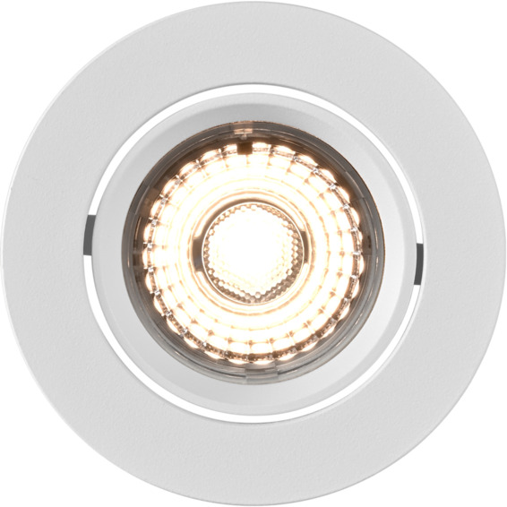 Alfa LED Downlight 10W Matt Hvit IP44