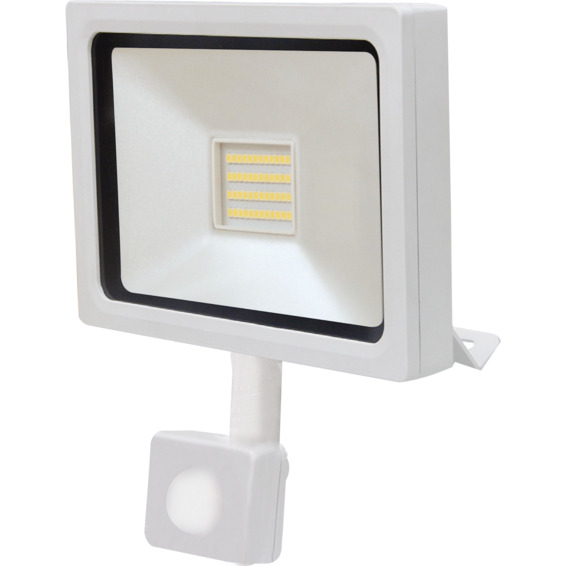 Lyskaster LED med sensor 10 Watt IP65
