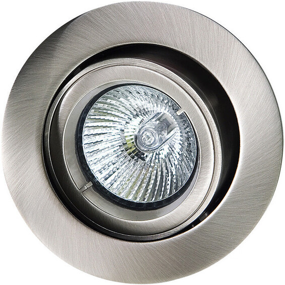 Jupiter Downlight 230V 50W GU10 Børstet Stål IP23