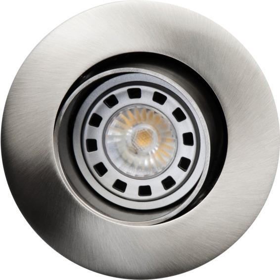 SG Armaturen SG Jupiter Iso 5,5W LED Børstet Stål 3210162 Downlight innendørs