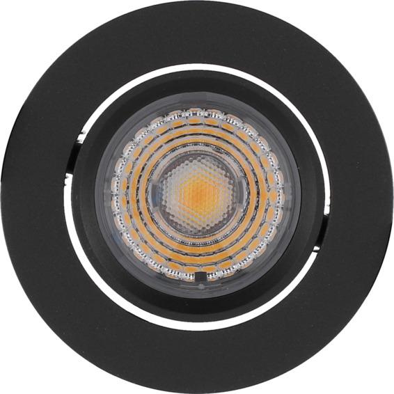 Alfa Downlight Warmdim 10W matt sort