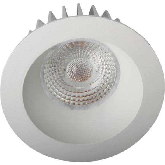 Namron Artic COB Soft Downlight 8W Matt Hvit IP44 3224819 Downlight innendørs