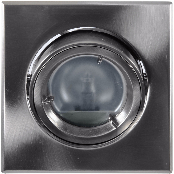 Tilo Star Downlight 12V/20W G4 Børstet Stål
