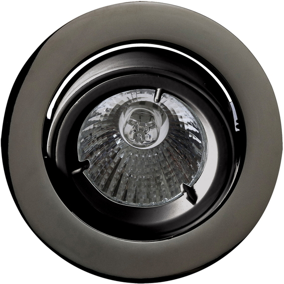 Juno Downlight 12V/35W MR16 Sort Krom IP44