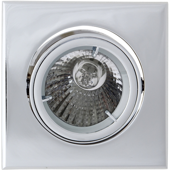 Tilo Downlight 12V/35W MR16 Krom IP44