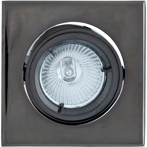 Tilo Downlight 12V/35W MR16 Sort Krom IP44