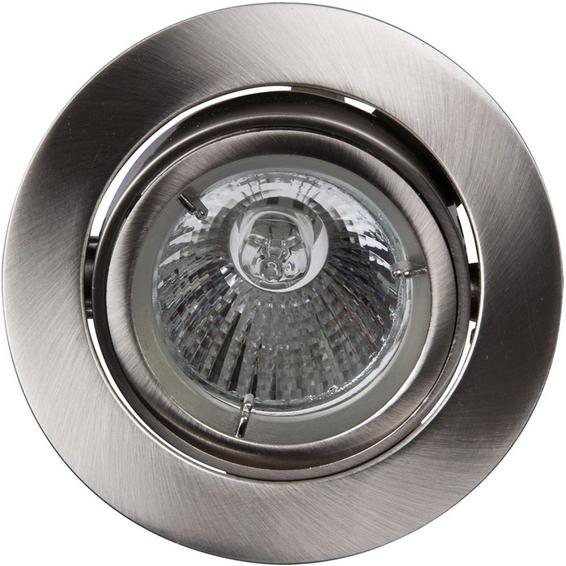 Juno Downlight 240V/50W GU10 B�rstet St�l IP23