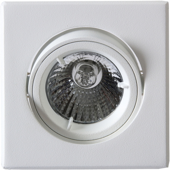 Tilo Downlight 240V/50W GU10 Matt Hvit IP23