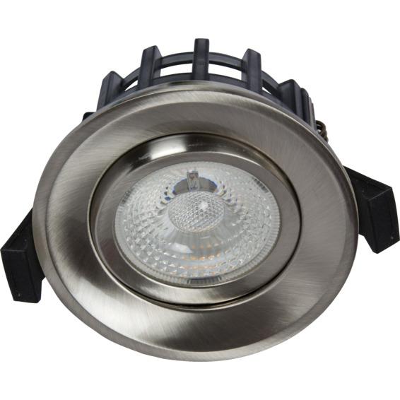 Unilamp JUNO GYRO COB+ Downlight 10W Børstet Stål 3225303 Downlight innendørs