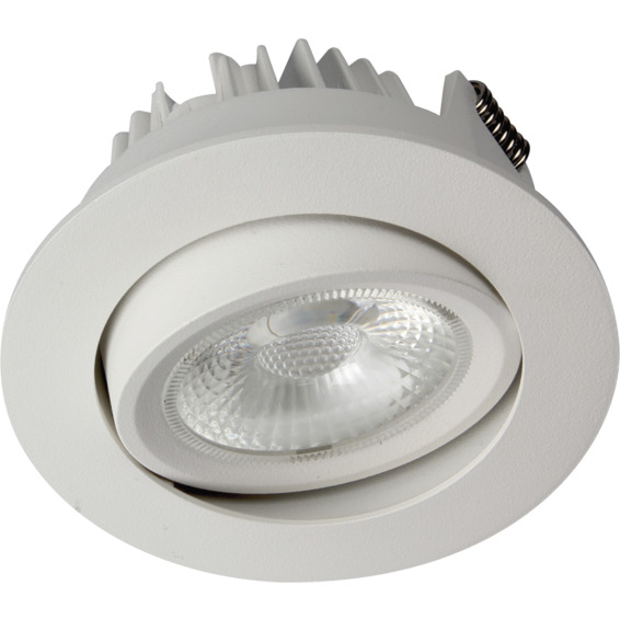 Unilamp Juno COB+ LED 10W Matt Hvit 3225306 Downlight innendørs