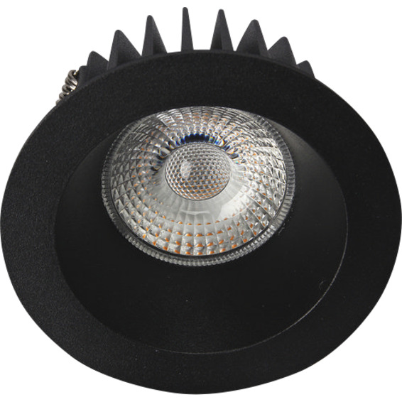 Unilamp Juno Soft Cob+ LED 10W Matt Sort 3225311 Downlight innendørs