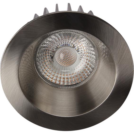 Unilamp Juno Soft Cob+ LED 10W Børstet Stål 3225312 Downlight innendørs