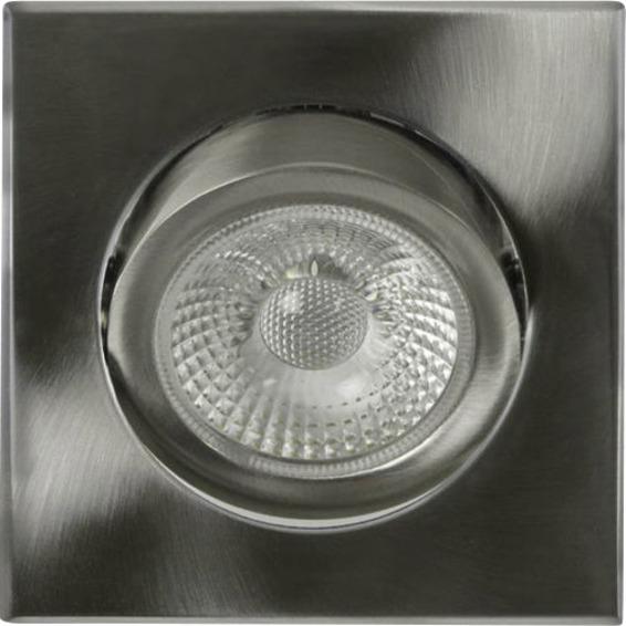 Unilamp Tilo Cob+ LED 10W Børstet Stål 3225317 Downlight innendørs