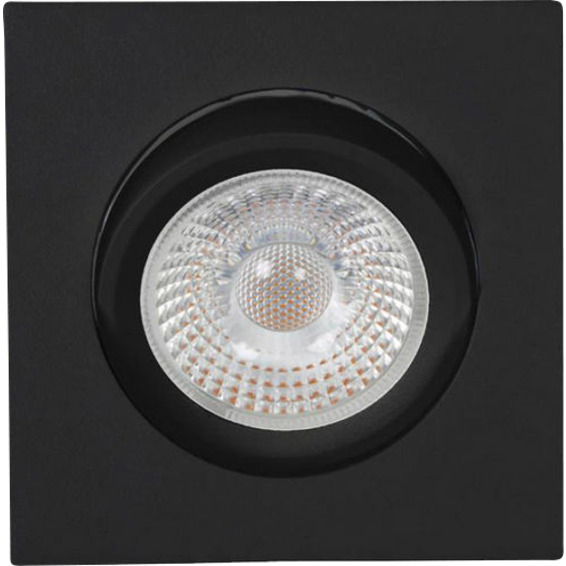 Unilamp Tilo Cob+ LED 10W Matt Sort 3225318 Downlight innendørs