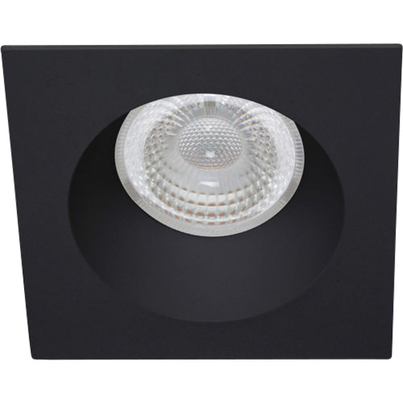 Unilamp Tilo Soft Cob+ LED 10W Matt Sort 3225321 Downlight innendørs